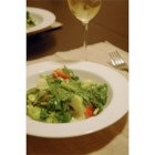 Greek Veggie Salad II - Summer vegetables are tossed with lettuce, olives, and feta in an herb vinaigrette.