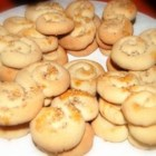 Koulourakia II - This Greek recipe makes 's'-shaped, cinnamon-flavored cookies sprinkled with sesame seeds.