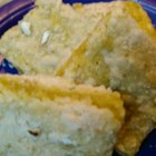 Avocado Rosemary Lime Bars - These green bar cookies are subtly flavored with rosemary and lime.