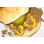 Loosemeat Sandwiches III - Ground beef is browned and then braised for a simple, sloppy sandwich.