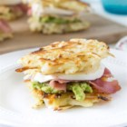 Hash Brown Sliders - These Hash Brown Sliders are courtesy of A Zesty Bite as part of the U.S. Potato Board's Potato Lovers Club. These Hash Brown Sliders are perfectly hearty for every occasion from delicious appetizers to a family meal.