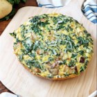 Potato, Kale and Pecorino Frittata - This Potato, Kale and Pecorino Frittata is courtesy of In Sock Monkey Slippers as part of the U.S. Potato Board's Potato Lovers Club. This Potato Frittata is an easy way to freshen up a weeknight dinner.