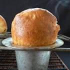 Popovers - The secret to light and airy popovers is a very light touch in mixing and a very hot oven for baking.  These are best served hot from the oven.