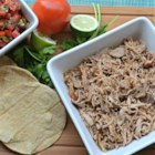 Slow Cooker Puerto Rican Shredded Pork - Make succulent Puerto Rican-style shredded pork in your slow cooker using orange juice, lime juice, garlic, cumin, and oregano.