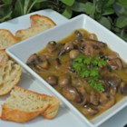 Jean's Marinated Mushrooms - Sauteed mushrooms are marinted in an engaging tarragon vinegar mixture.