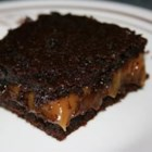 Chocolate Caramel Brownies - My aunt gave me this recipe. It is a little trouble, but they will be the best brownies you'll ever eat.