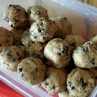 Peanut Butter Balls VIII - Mom made these for us for as long as I can remember. They are a great in between meals or after school. Easy to make and great tasting too! Yes, they even have bran (the good for you stuff) in them. Enjoy!