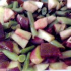 Beet, Bean and Apple Salad - This brightly colored cold salad is a perfect compliment to any meal.