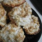 Coconut-Cornflake Cookies - Flourless cookies.