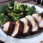 Molasses-Glazed Pork Tenderloin - This is a yummy, super easy way to grill pork with a lot of flavor.  Serve with roasted or mashed potatoes and a veggie.