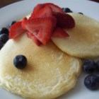 The Best Ricotta Pancakes - A time-tested favorite ricotta pancake recipe, this is a little tangy and very satisfying; perfect with fresh blueberries or strawberries.