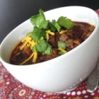 Slow Cooker Turkey Chili with Kidney Beans - Ground turkey and kidney beans are simmered in a well seasoned broth in this easy slow cooker turkey chili recipe that is perfect for busy nights.