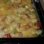 Fast and Easy Chicken Tetrazzini - Grab a rotisserie chicken on your way home from work to save time making this pasta casserole.