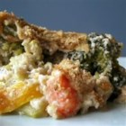 Broccoli Stuffing - Broccoli is mixed with bread stuffing mix, topped with a creamy cheese sauce, and baked until the cheese is bubbly and golden.