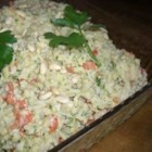 Artichoke Rice Salad - The curry powder mixed into the mayonnaise makes all the difference. You can substitute wild rice instead of white or use a packaged pilaf mix as well. It also molds nicely and mellows in the refrigerator.