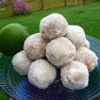 Margarita Balls I - You know about rum balls. Now try this recipe for margarita balls for no-bake treats with chocolate, orange marmalade, and, of course, tequila.