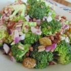 Easy Broccoli Bacon Salad - This quick and easy broccoli bacon salad will convert all the broccoli-haters into broccoli-lovers after taking just one bite.