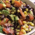 Aztec Salsa - Black beans, Mexican-style corn, and avocados add their Southwestern flavors to this fresh summery salsa salad. Serve with scoop-style corn chips.