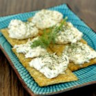 Easy Salmon Dip - Use canned salmon, softened cream cheese, and sour cream to make this salmon dip seasoned with dill, parsley, garlic, and lemon.
