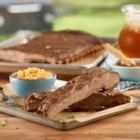 Virginia Barbecued Spareribs - A sweet and spicy rub and zesty barbecue sauce bring delicious flavor to these tender, Virginia-style spareribs.