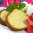 Coconut Cream Pound Cake - A moist coconut pound cake, a crowd pleaser. I use this recipe for making wedding cake layers.