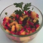 Mango Relish - The sweet flavors of this relish creates an exotic accompaniment to fish or chicken.  Try pairing with Thai, Indian, or Caribbean dishes or serve with Tortilla chips.  Besides the lift to your tastebuds, the relish will add texture and color to your plate.