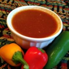 Hotsie Totsie Taco Sauce - This spicy taco sauce recipe doubles as a dipping sauce and is easily adjustable to your personal tastes and heat levels.