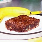 Easy Banana Brownies - A small banana adds a hint of banana flavor to this fudgy made-from-scratch brownie.