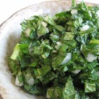 Chutney with Mint - This aromatic chutney is a wonderful condiment for meats, especially lamb. Try it on  sandwiches, too.