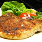 Pork Rub Rubbed and Baked Pork Chops - Quick and easy pork rub with common spices brings the flavor to these oven-baked pork chops.