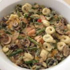 Smoked Salmon Tortellini with Bechamel Sauce - I derived this recipe after tasting something similar at a restaurant. It is wonderfully rich and filling.