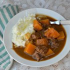 Healthier Slow Cooker Beef Stew I - With more vegetables and reduced-sodium beef broth, this healthier version of beef stew is sure to satisfy on a cold winter night.