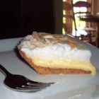 Lemon Icebox Pie I - This easy lemon pie has a meringue topping.