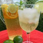 Mr. Big's White Sangria - This refreshing punch is perfect for 4th of July parties or whatever summertime gathering needs a fruity adult beverage.