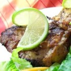 Lime-Tarragon Grilled Chicken - A lime-tarragon marinade for juicy flavorful chicken pieces - moist and delicious. I like to  marinate the pieces and cook them on the grill for a nice summer meal.
