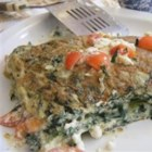 My Big Fat Greek Omelet - If you're low-carbing it, try my spinach omelet with tomato and feta filling. If you thaw the spinach and squeeze it dry the night before, this omelet is very doable even for speedy weekday breakfasts.