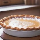 Buttermilk Pie II - Sweet and very buttery, this pie quickly mixes up in one bowl and bakes up into a buttermilk custard pie that brings raves. It cuts beautifully and tastes wonderful with fresh whipped cream and a sprinkling of blueberries.