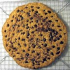 Pizza Pan Oatmeal Cookie - Jumbo oatmeal cookie suitable for decorating like a cake.