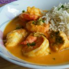 Indian Shrimp Curry - This is a subtle and richly-flavored curry that complements the shrimp perfectly--and it's a quick and easy meal! Serve with hot cooked rice.