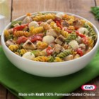Catelli Bistro(R) Chicken and Red Pepper Caprese Pasta Salad - This zesty and colourful dish is perfect for a summer dinner.
