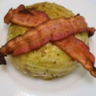 Grilled Cabbage  - Grilled cabbage stuffed with bacon and butter is a new twist on this simple side dish for weeknight summer dinners.