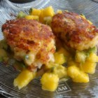 Shrimp Cakes - Fried shrimp cakes are made with crackers and onion. This recipe includes jalapenos and Tabasco(R) sauce to add a little kick--very flavorful!