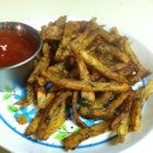 Cajun Baked French Fries - Baked French fries coated in plenty of Cajun seasoning will be a hit with kids and adults alike.