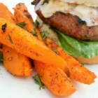 Tropical Sweet Potato Fries - Sweet potatoes make a perfect summer treat, especially with a nice twist by using lime zest! Boiling the potatoes before hand allows them to cook perfectly once in the oven. This pairs well with seafood and burgers alike.