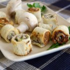 Mushroom Bouchees - These are perfect, bite-size mushroom appetizers that are always a hit at parties and family gatherings.