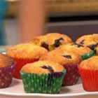 Giant Blueberry Muffins - These giant blueberry muffins make a satisfying on-the-go breakfast or anytime snack.