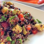Mexican Quinoa Salad - This recipe for Mexican quinoa salad is quick and easy and makes for a delicious and fresh dish with a little kick!