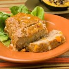 Healthy Turkey Loaf - Lean ground turkey in a flavorful mixture of salsa, bell pepper, egg and onion. The ease of meatloaf without the calories! Easily frozen and baked later for a quick meal.