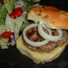 Greek Burgers - These lamb burgers have the wonderful taste of fresh fennel and oregano in each bite. Serve with a garlic mayonnaise.