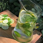 Mint Citrus Water - Mint and citrus water includes lemon and lime slices for a refreshing summer beverage when you have company.